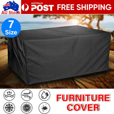 AU19.99 • Buy IN/Outdoor Furniture Cover UV Waterproof Garden Patio Table Shelter Chair Sofa
