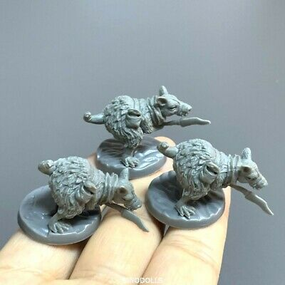AU6.78 • Buy 3pcs Mouses Figures Dungeons & Dragons Board Game Miniatures