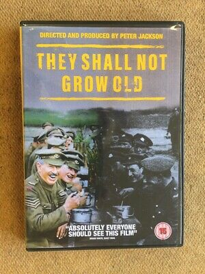 $9.99 • Buy They Shall Not Grow Old (DVD, 2018) Region 2