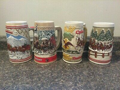 $ CDN49.98 • Buy Budweiser Stein Lot Of 4