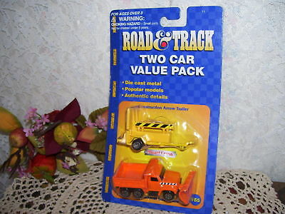 $ CDN20.56 • Buy Maisto Road & Track Two Car Value Pack Road Crew Mip