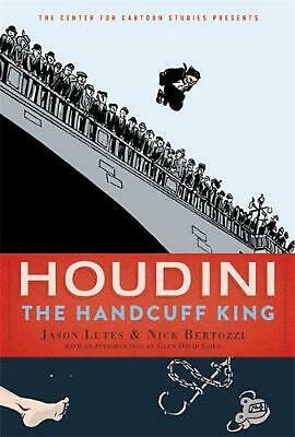 Houdini: The Handcuff King By Jason Lutes (English) Hardcover Book Free Shipping • 16.41£