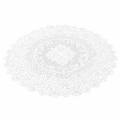 $8.99 • Buy 59  Round Lace Tablecloth Elegant Floral Table Cloth For Birthday Wedding Party