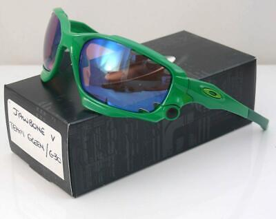 AU229.99 • Buy Oakley Custom Sunglasses Jawbone Team Green Frame G30 Lens New Rare Last Few