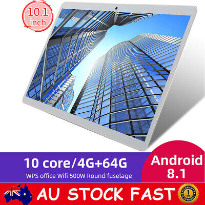 AU121.88 • Buy Android 8.0 10.1  Tablet PC 8+512GB Deca Core Dual Camera Bluetooth WiFi GPS Tab