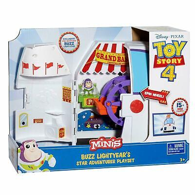Disney Pixar Toy Story 4 Buzz Lightyear Carnival Playset Gift Space Ship  • 13.95£