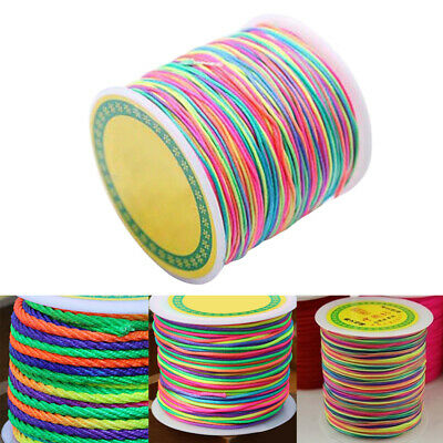 $ CDN9.79 • Buy 100m 1mm Elastic Thread Cord Beading Rope Craft Cord Bead String Jewelry Making