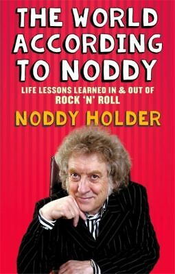 The World According To Noddy By Noddy Holder (Paperback) FREE Shipping, Save £s • 2.48£
