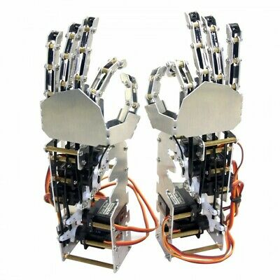 DOF Humanoid Five Fingers Manipulator Arm Left+Right Hand With Servos For Robot • 99.99£