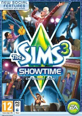 Windows 7 : The Sims 3: Showtime (PC/Mac DVD) VideoGames***NEW*** Amazing Value • 12.49£