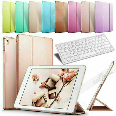 £18.65 • Buy For IPad Mini 1 2 3 9.7  Smart Bluetooth Keyboard Leather Folio Stand Case Cover