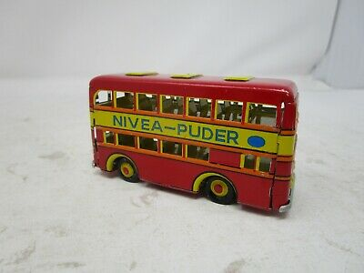$ CDN6.69 • Buy ZZZ (Made In Germany) *TIN DOUBLE DECKER BUS (NIVEA-PUDER)*
