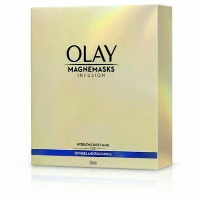 AU17.99 • Buy 5pc OLAY Magnemasks Infusion Hydrating Sheet Mask Dryness Roughness
