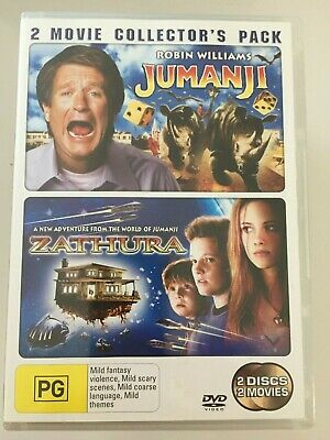 AU11.69 • Buy Jumanji & Zathura DVD 2 Great Family Movies