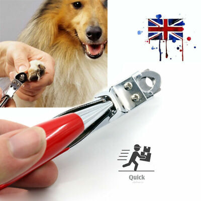 Dog Cat Nail Toe Claw Clippers Scissor Trimmer Shear Cutter Pet Grooming Tool • 4.19£