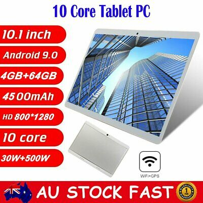AU121.99 • Buy 10.1 Inch Deca Core 8G+256GB Android 9.0 WiFi Tablet PC Dual Camera GPS Tab PAD