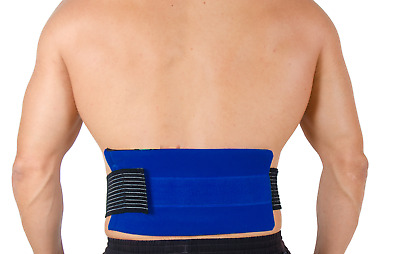 Back Ice Pack And Wrap - Reusable Hot Cold Compress Gel For Knee Pain UK Seller • 7.99£