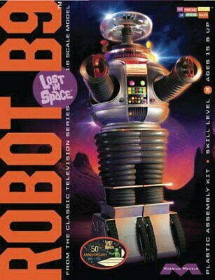 AU62.75 • Buy Lost In Space 13  B-9 Robot 1:6 Scale Model Kit YM-3 MINT SEALED 17RMB02