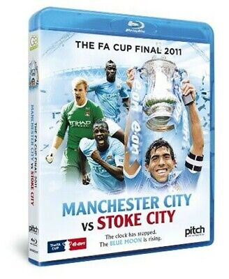 FA Cup Final: 2011 - Manchester City Vs Stoke City Blu-ray (2011) Manchester • 3.97£