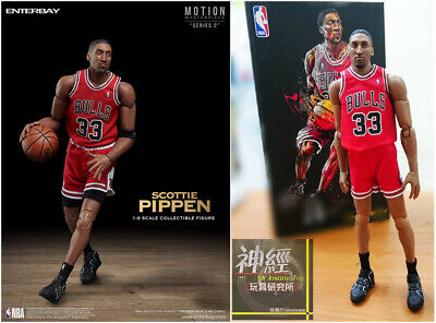 $225 • Buy ENTERBAY 1/9 Scale Scottie Pippen ACTION FIGURE NBA CHICAGO BULLS MM-1208