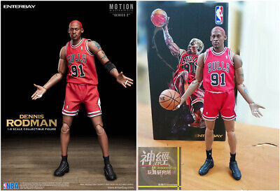 $225 • Buy ENTERBAY 1/9 Scale Dennis Rodman ACTION FIGURE NBA CHICAGO BULLS MM-1209
