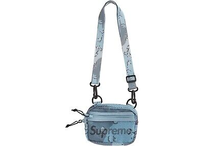 $ CDN160 • Buy Supreme Small Shoulder Bag- Blue Chocolate Chip Camp, DSWT, SS20, SOLD OUT