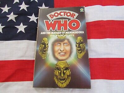 DOCTOR WHO And The Masque Of Mandragora – CLASSIC TARGET Paper Back Book • 2.99£
