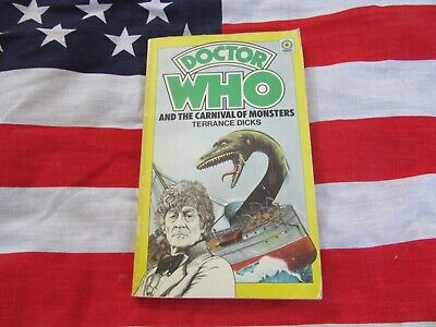 DOCTOR WHO And The Carnival Of Monsters – CLASSIC TARGET Paper Back Book • 2.99£