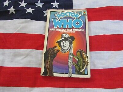 DOCTOR WHO And The Lochness Monster – CLASSIC TARGET Paper Back Book • 2.99£