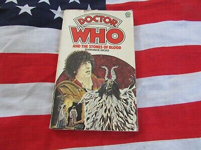 DOCTOR  Who And The Stones Of Blood – CLASSIC TARGET Paper Back Book • 2.99£