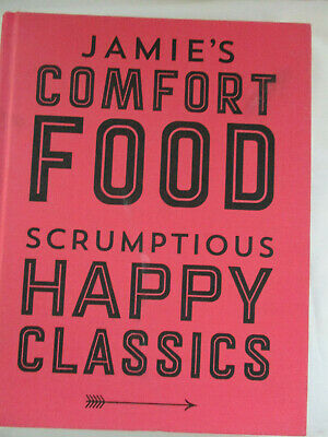 AU28 • Buy COMFORT FOOD & HAPPY CLASSICS-Jamie Oliver-Large+Very Thick 406 Pages Hardcover