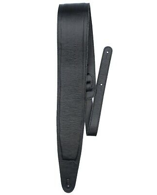 $ CDN69.99 • Buy Bass Player Guitar Strap - Genuine Black Glove Leather Padded - Extra Long