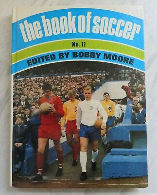 £8 • Buy The Book Of Soccer No 11, Edited By Bobby Moore, 1968 Excellent Condition