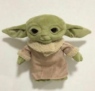 $17.99 • Buy NEW Mandalorian Baby Yoda Plush 11 Inches VERY Cuddly!  FAST Shipping From US