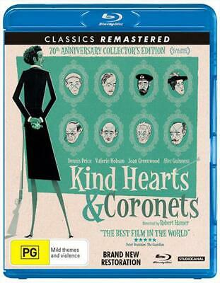 Kind Hearts And Coronets - Blu Ray Region B Free Shipping! • 17.18£