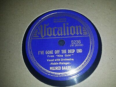Mildred Bailey. On Vocalion. E To E - Condition  • 9.99£