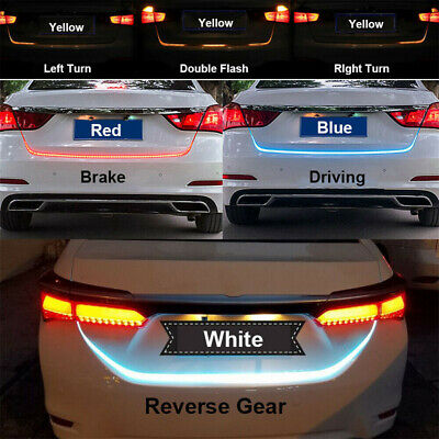 $12.92 • Buy 47  LED Tailgate Strip Light Reverse Brake Turn Signal Tail Light For Car Truck