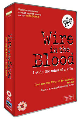 Wire In The Blood: The Complete First And Second Series DVD (2016) Robson Green • 3.88£