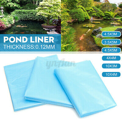 Fish Pond Liner Gardens Pools HDPE Membrane Reinforced Landscaping 6 Sizes Blue • 24.69£