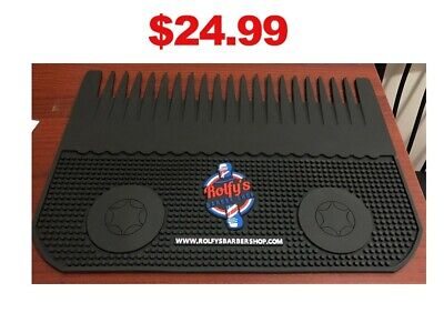 $24.99 • Buy Barber Station Mat Custom Clipper Blade