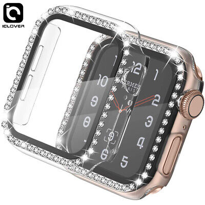 $ CDN7.62 • Buy Apple Watch Series 6 5 3 Toughened Tempered Glass Full Screen Protector 40/44mm