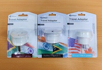 AU12.99 • Buy Sansai Travel Adaptor AU NZ To South Africa India USA Canada China