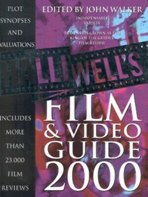 Halliwell's Film & Video Guide 2000 By Leslie Halliwell (Paperback / Softback) • 3.20£