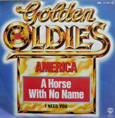 £12.81 • Buy 7 70s MINT-! AMERICA : A Horse With No Name + I Need You