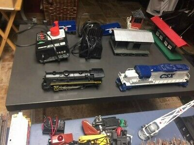 $400 • Buy Lionel Train Partsincluding 027 Gauge, Two Engines, Cars, Track And More!