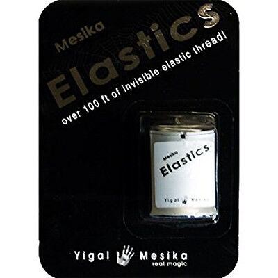Mesika Elastics Invisible Thread 100 Foot Spool Float & Move Objects Bonus Trick • 17.14£
