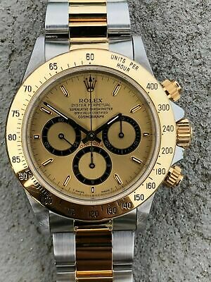 $ CDN19223.62 • Buy Rolex Daytona Zenith 16523 RSC Serviced 'Inverted 6' - 1989