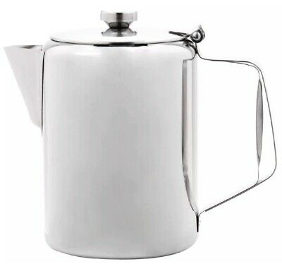 £19.99 • Buy Sunnex Large Stainless Steel Teapot Coffee Pot Catering Restaurant 100oz 3.0L