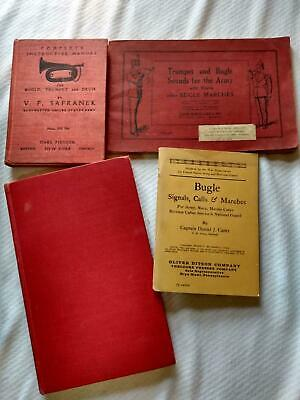 $119.99 • Buy Bugle Trumpet Calls Signals & Marches Military (4 Vintage Rare Books For The US)