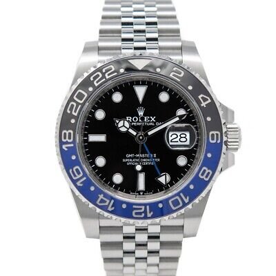 $ CDN22491.23 • Buy New Rolex GMT-Master II Stainless Steel 126710BLNR  -  Batman , Jubilee Bracelet